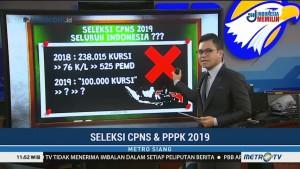 Fakta dan Data Seleksi CPNS 2019