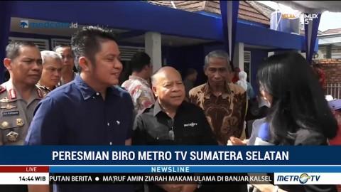 Peresmian Biro Metro TV Sumatera Selatan