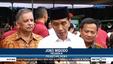 Jokowi Resmikan Penyambungan Listrik Gratis di Bekasi