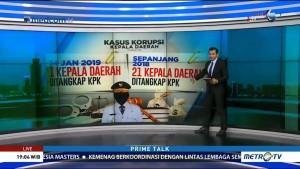 KPK Lakukan 30 OTT di Tahun 2018