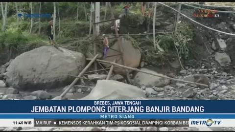 Pascabanjir Bandang, Pemerintah Bangun Jembatan Darurat di Brebes