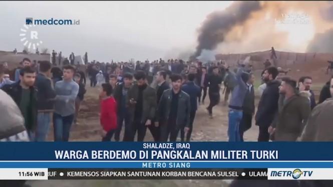 Bentrok di Pangkalan Militer Turki, Satu Orang Tewas