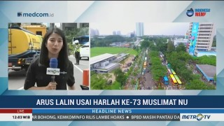 Arus Lalin Usai Peringatan Harlah ke-73 Muslimat NU