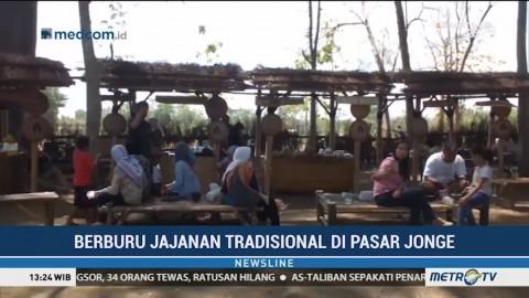 Berburu Jajanan Tradisional di Pasar Jonge