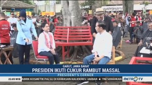 Kunjungan Jokowi di Tanah Sunda