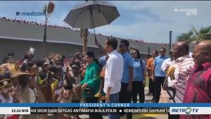 Di Balik Kunjungan Kerja Presiden Jokowi
