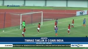 Timnas Putri Indonesia Kalah Telak dari India