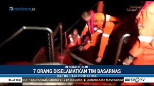 Kapal Pengangkut Semen Tenggelam di Bengkalis, 3 ABK Hilang