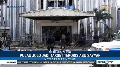20 Orang Tewas Akibat Ledakan Bom di Gereja Filipina