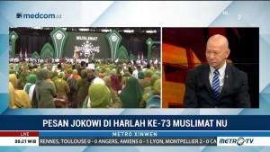Pesan Jokowi di Harlah ke-73 Muslimat NU