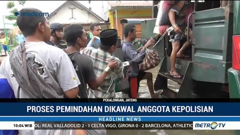 Lapas Pekalongan Dilanda Banjir, Ratusan Warga Binaan Dievakuasi