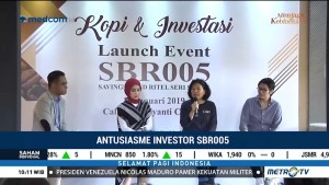 Antusiasme Investor SBR005 Tinggi