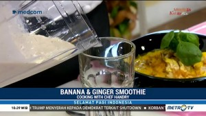 Cooking with Chef Handry: Laksa Ayam dan Banana & Ginger Smoothie (2)