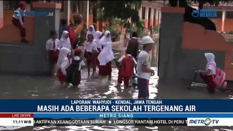 Sekolah Terendam Banjir, Pelajar Terpaksa Dipulangkan