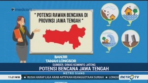 Potensi Bencana di Jawa Tengah