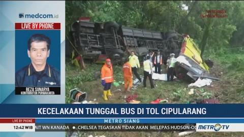 Korban Tewas Kecelakaan Bus di KM 70 Tol Cipularang Jadi 7 Orang