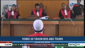 Bos Abu Tours Divonis 20 Tahun Penjara