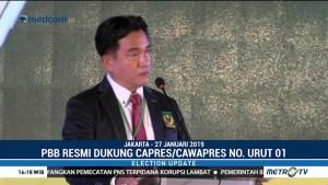 PBB Dukung Jokowi-Ma'ruf di Pilpres 2019