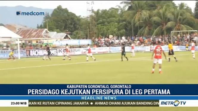Persipura Kalah 0-1 dari Persidago Gorontalo