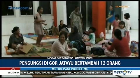 6 Ribu Warga Pekalongan Mengungsi ke GOR Jatayu