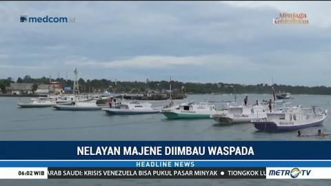 BMKG Imbau Nelayan Waspada Gelombang Tinggi di Majene
