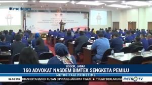 160 Advokat NasDem Ikuti Bimtek Sengketa Pemilu 2019