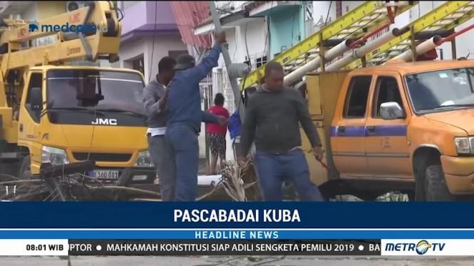 Badai Terjang Kuba, 3 Orang Tewas dan 172 Terluka