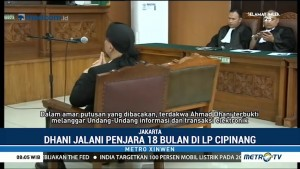 Ahmad Dhani Divonis 18 Bulan Penjara