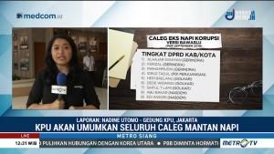 KPU Gelar Pleno Pastikan Data Caleg Eks Narapidana