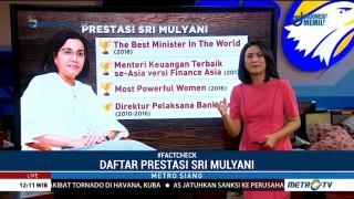 <i>Fact Check</i> Menteri Pencetak Prestasi