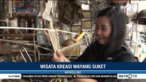 Wisata Kreasi Wayang Suket