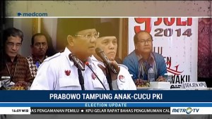 Kubu Prabowo-Sandi Terima Dukungan Keturunan PKI