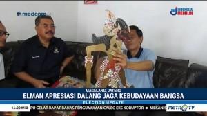 Elman Saragih Apresiasi Dalang Legendaris Ki Legawa di Magelang