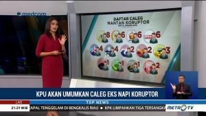 KPU Tunda Umumkan Caleg Eks Koruptor