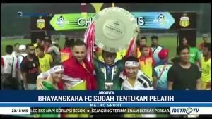 Teka-teki Pelatih Bhayangkara FC