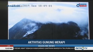 Kubah Lava Merapi Capai 461.000 Meter Kubik