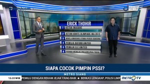 Siapa Cocok Pimpin PSSI?