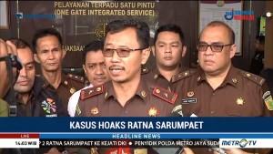 Ratna Sarumpaet Kembali Ditahan di Polda Metro Jaya