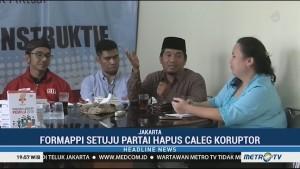 Formappi Dukung Parpol Hapus Caleg Eks Koruptor