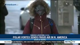 Polar Vortex Sends Frigid Air in North America