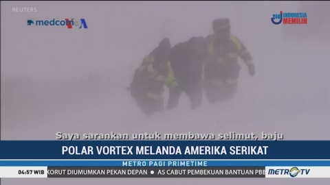 Polar Vortex Landa Amerika Serikat