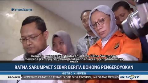 Polisi Jerat Ratna Sarumpaet dengan Pasal Berlapis
