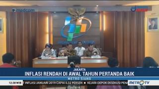 BPS Catat Inflasi 0,32% di Januari 2019