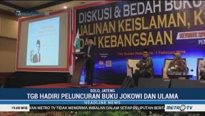 TGB Hadiri Peluncuran Buku Jokowi dan Ulama
