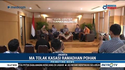 MA Tolak Kasasi Ramadhan Pohan