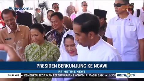Jokowi Kunjungi Benteng Pendem Ngawi