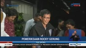 Rocky Gerung Selesai Jalani Pemeriksaan Terkait Dugaan Penistaan Agama