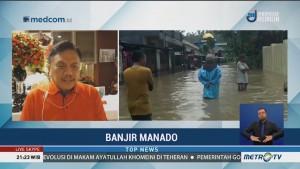 8 Kecamatan di Kota Manado Terendam Banjir