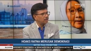Hoaks Ratna Merusak Demokrasi?