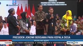 Jokowi Hadiri Sosialisasi Dana Desa di Surabaya